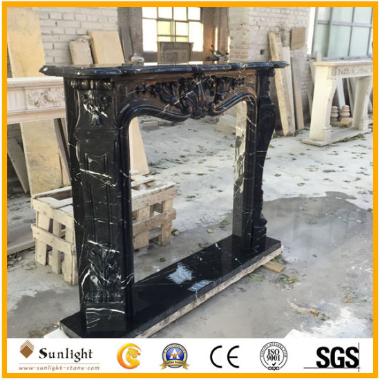 High Quality Stone Fireplace with Marble Granite Limestone Sandstone pictures & photos