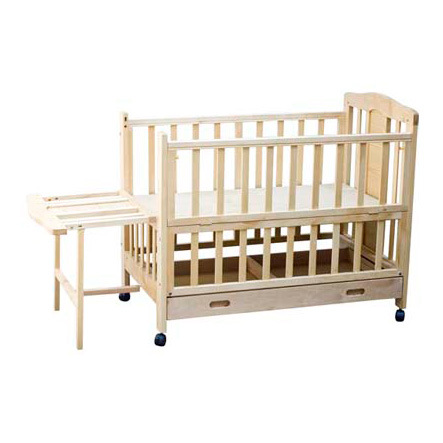 2013 Top Quality Baby Wooden Crib with Factory Price (wj278319)