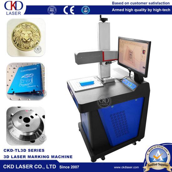 3D Laser Marking Engraving Caving Machine for Metal Hook Face