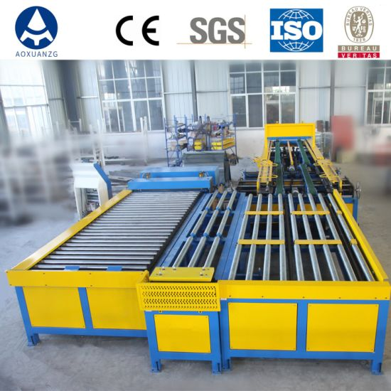 Duct Production Auto Line V U Type Super Line 6 for Angel Steel Tdf Duct Making