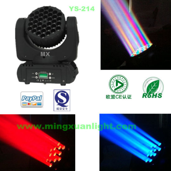 Professional Stage Light LED Moving Head Beam (YS-214)