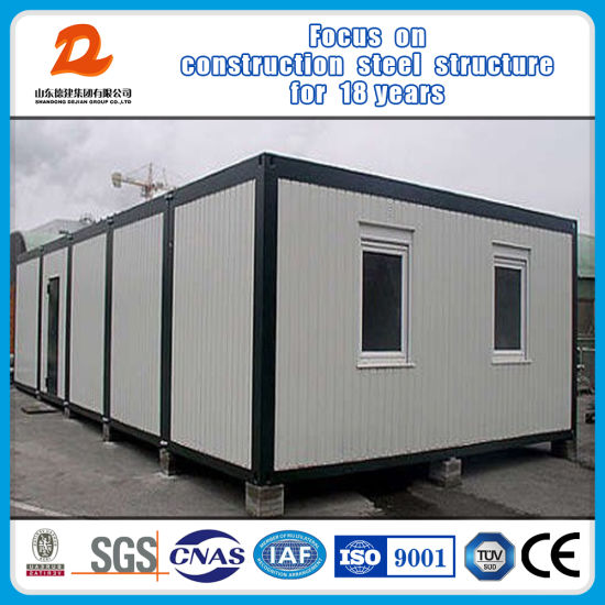 20FT Galvanized Steel Container Building for Dormitories pictures & photos