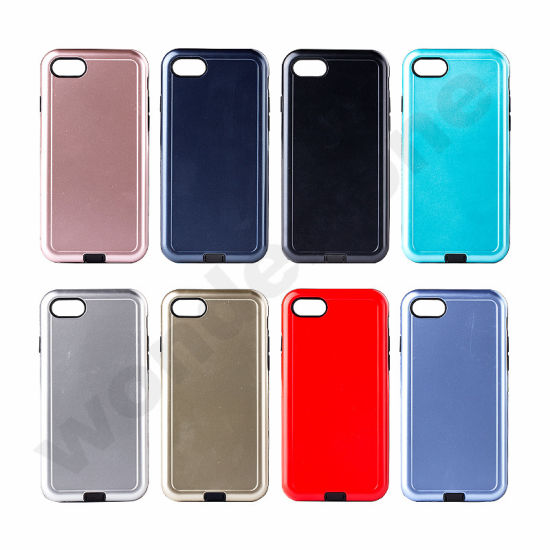 2 In1 Hybrid Armor Phone Case for iPhone 7