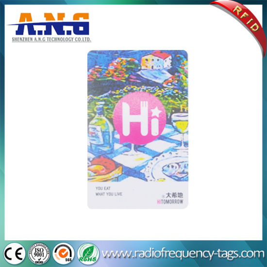 ISO14443A Plastic Card Contactless RFID Card for Tracking Management