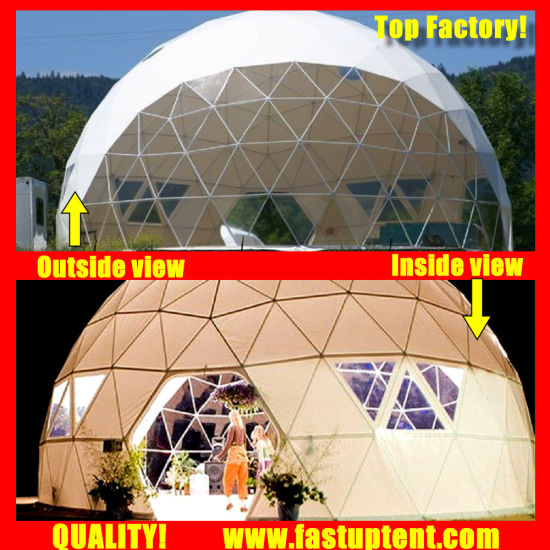 Clear Transparent White PVC China Factory Geodesic
