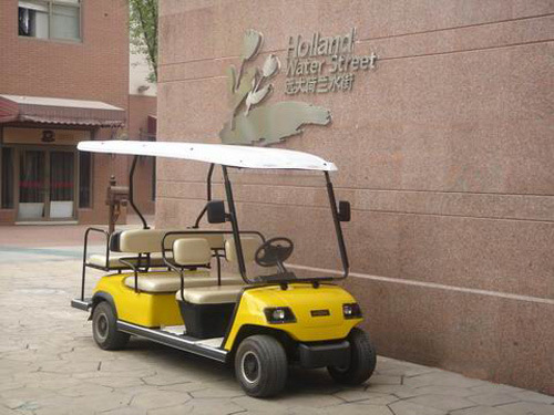 48V/3.7kw, CE Certification Electric Sightseeing Car