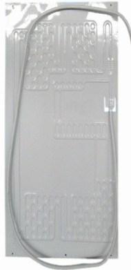 Deep Fridge Aluminium Plate Roll Bond Evaporator Coil