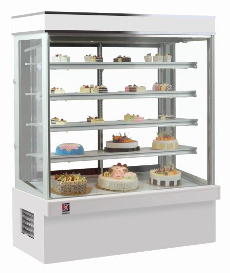 Upright Movable Refrigerated Cake Display Cabinet