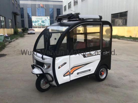 China 650W/800W Rickshaw, Electric Three Wheel Passenger Tricycle