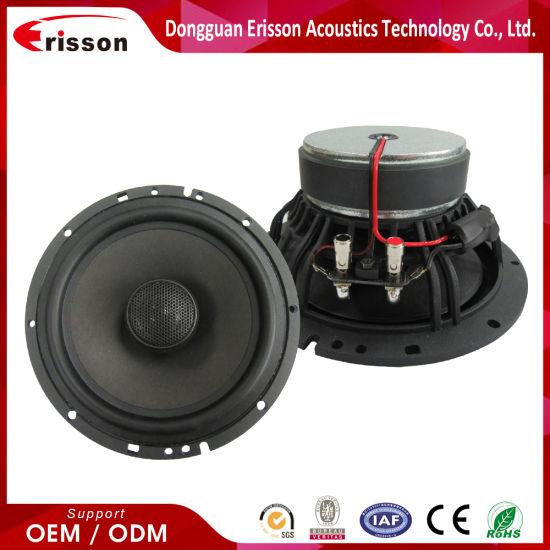 6.5 Inch 2 Way Loud Car Professional Coaxial Speaker Audio Speaker