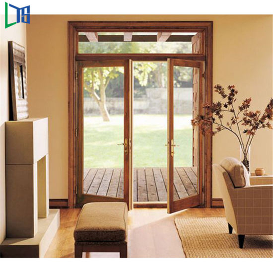 China double glass exterior aluminium outswing for patio - Double outswing exterior french doors ...