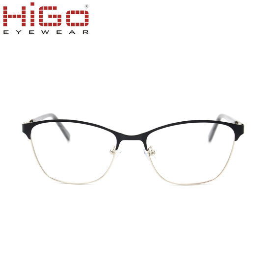 Wenzhou Manufacturer Cat Eye Stainless Spectacles Glasses Frames