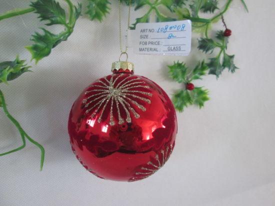 2021 Various Types Christmas Glass Ball