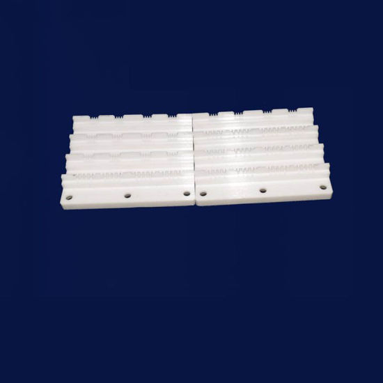 Technical Ceramic Engraved Threaded Hole 99% Alumina Ceramic Brake Parts