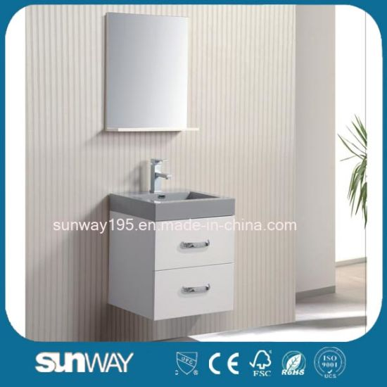 China Classical Modern Design Wall Mounted Mdf Hotel Bathroom Vanity Units China Cabinet Bathroom Cabinet