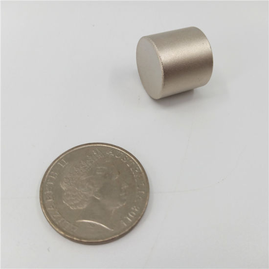 Permanent Cylinder Round Shape Sintered Samarium Cobalt SmCo Magnets