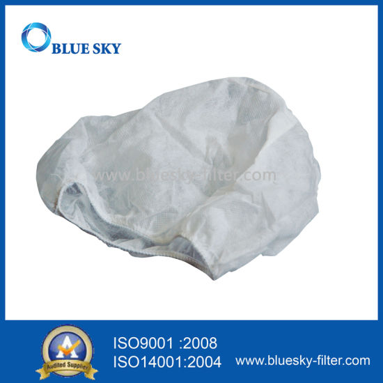 White Synthetic Fiber Spunbonded Dust Bags for Vacuum Cleaner