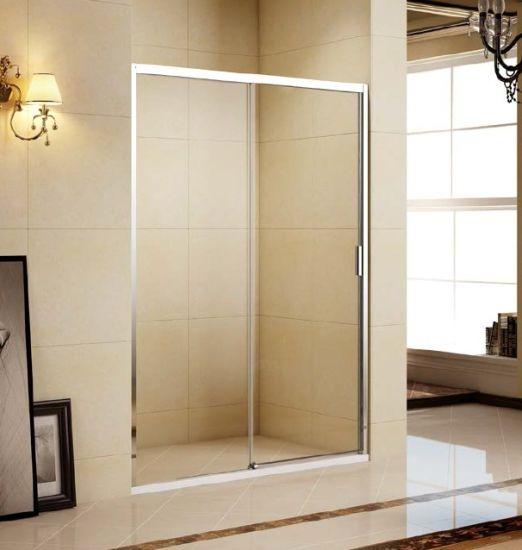 Simple & Elegent Semi-Frameless Sliding Shower Door L06121