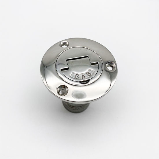 Stainless Steel 316 50*38mm Drain Plug Scupper Plug Cabin Outfall Valve with High Polished Head