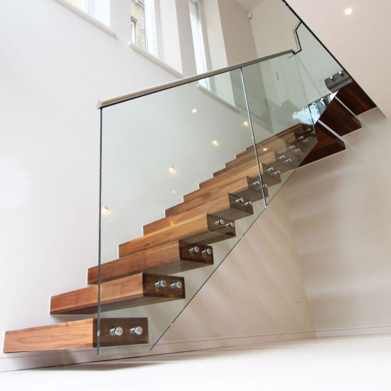 Stair Gl Railing Types With Patch Ings System