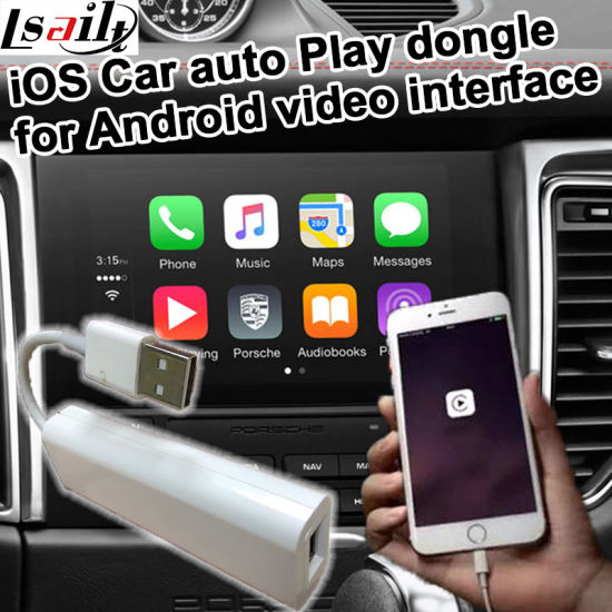 China Apple Ios Carplay Dongle for Android Video Interface - China