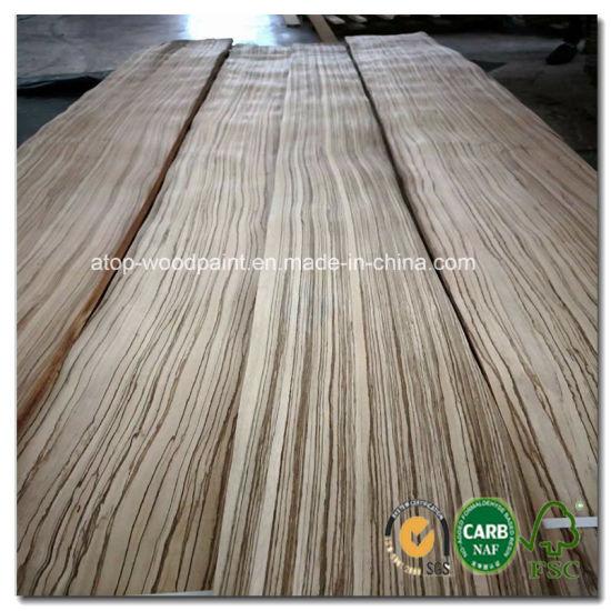 China Africa Zebra Wood Veneer Quarter, Zebra Wood Laminate Flooring