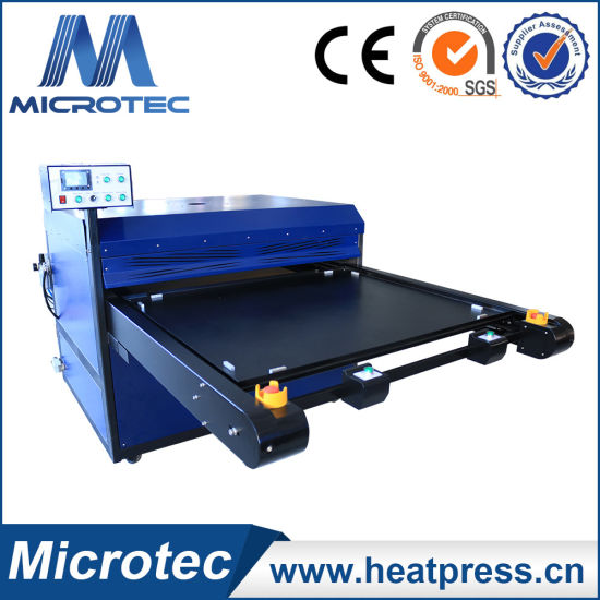 china newest large format flatbed heat press t shirt printing ...