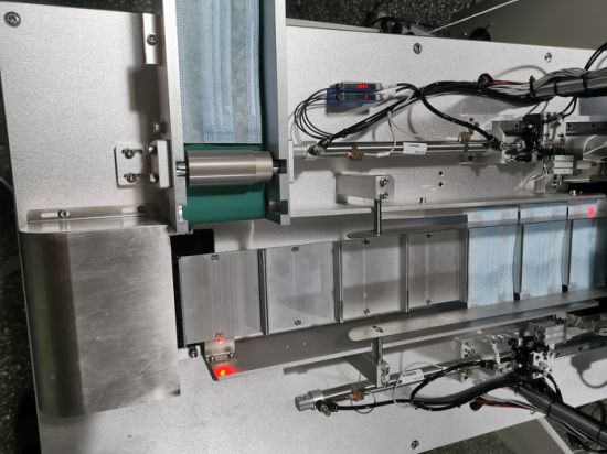 Hot Sale Professional Manufacturer High Capacity High Speed 1+2 Full Auto Mask Machine