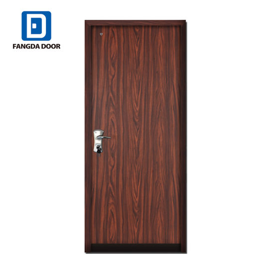 Multi Lock System Residential Security Metal Steel Exterior Door