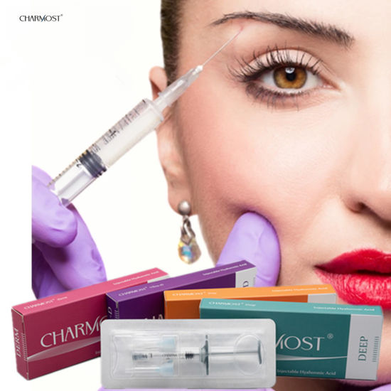 CE Best Cross Linked Hyaluronic Acid Injectable Gel Injection Lip Augmentation Korea Dermal Filler