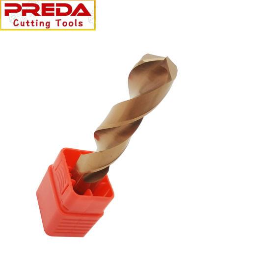 CNC Lathe Solid Carbide 12mm Long Length 55 Degree Twist Drill Bits