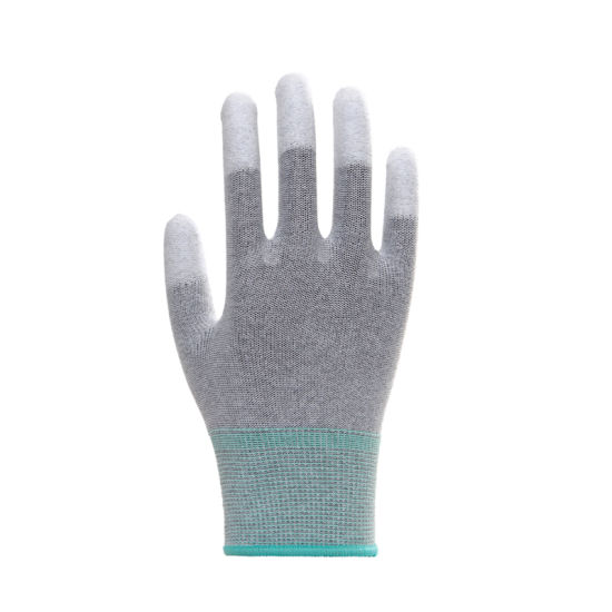 ESD PU Top Fit Safety Work Gloves