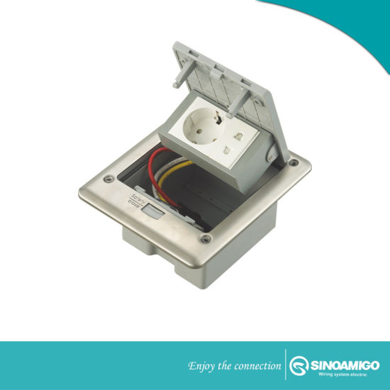 Watertight IP66 Floor Socket for Access Floor and Concrete Floor