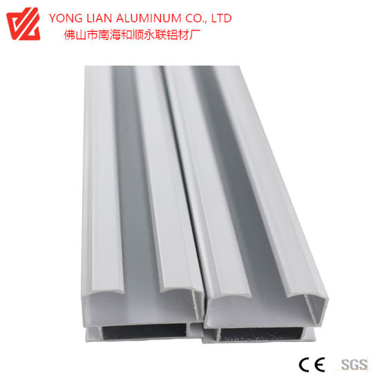 Environmental Friendly High Quality Aluminum Extrusion Aluminum Profile for Doors Windows Curtain Wall Frame pictures & photos