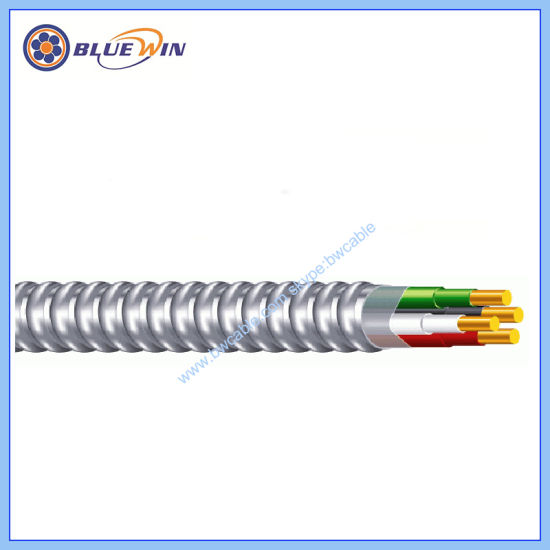 MC 6//4 with Ground 50 ft Copper Electrical wire METAL CLAD