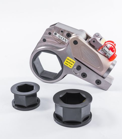 Al-Ti Alloy Material Hexagon Cassette Hydraulic Torque Wrench (SOV-XLCT) pictures & photos
