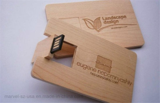Customized Logo USB2.0 64GB Pen Drives Pendrive 4GB 8GB 16GB Wooden USB Flash Drive pictures & photos