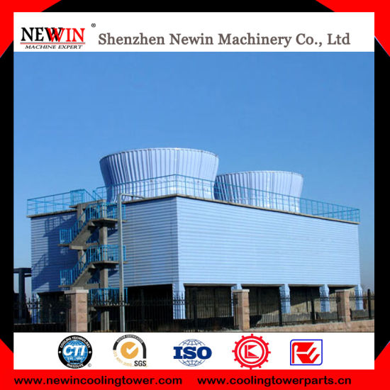 Industrial Concrete FRP Cooling Tower