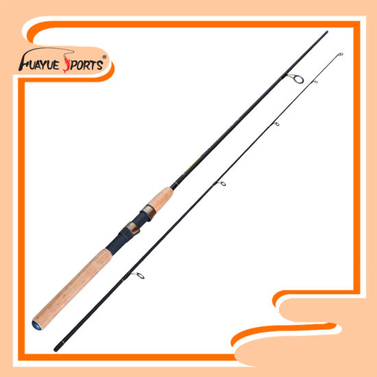 1.8m/ 1.98m 2PCS Epoxy Glass Material M Action Spinning Rod
