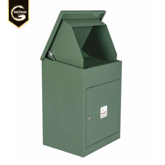 China Factory Custom Made Iron Cast Stainless Steel Mailbox Apartment Building Parcel Drop Box China Nearest Mailbox Blue Mailbox Near Me