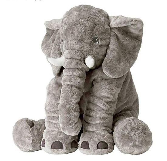 Multicolour Elephant Soft Toys Animals Stuffed Plush Pillow Elephant Cushion Plush Toy for Kids Gifts