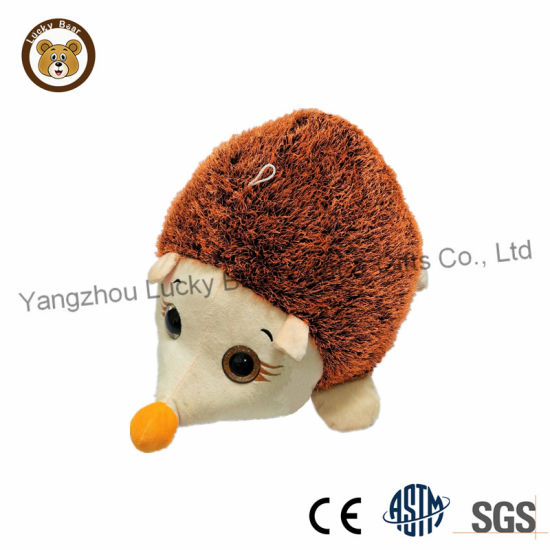 Stuffed Plush Animal Hedgehog Toy Mum and Baby