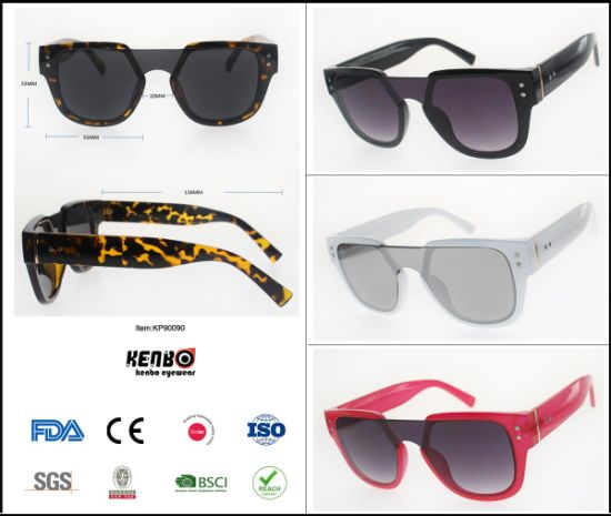 2019 New Noveltyfashion Trend Best Selling Plastic Sunglasses, Copy Popular Brand Eyewear, Accessory, Item No. Kp90090 pictures & photos