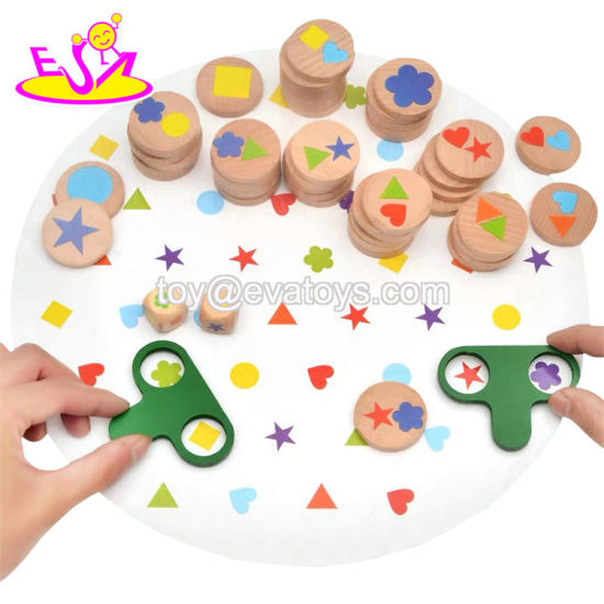 2019 New Design Early Development Wooden Shape Matching Toy for Baby W13e096 pictures & photos
