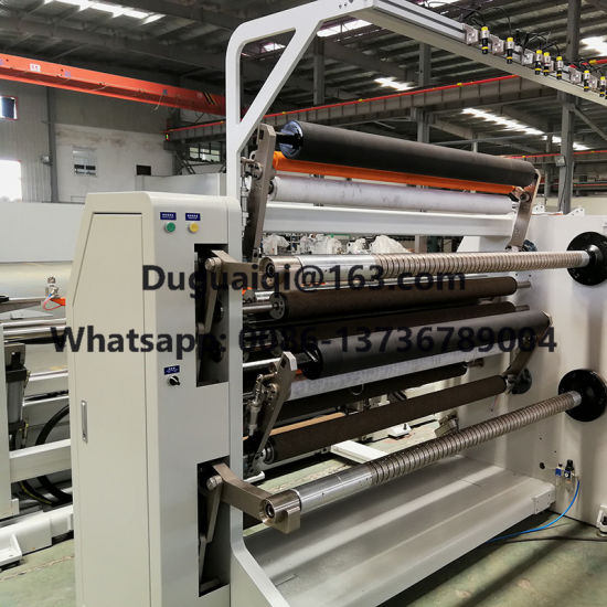 Auto High Speed High Quality Paper/Film/Non Woven-Aluminum Foil Slitting Rewinding Machine with Ce