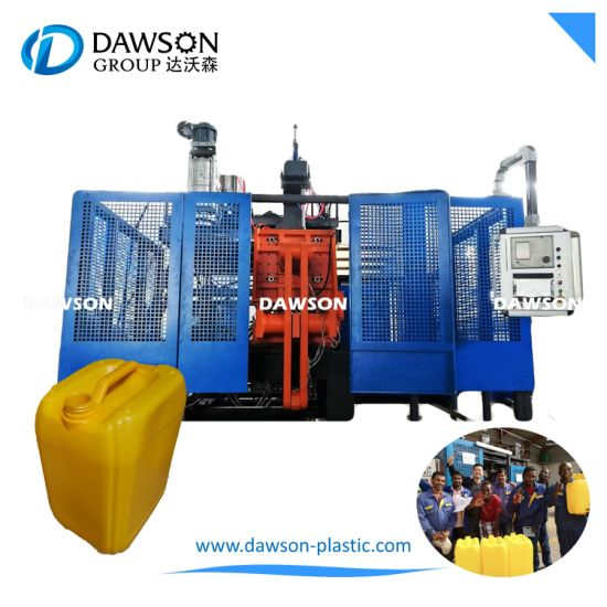 20L 25L 30L HDPE Jerry Can Drums Blowing Molding Machinery