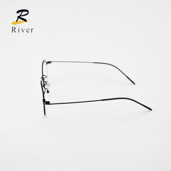 55724 Fashion Designs Metal Slingshot Eyewear Flexible Light Eyewear Optical Spectacle Frames