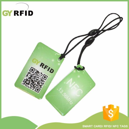 13.56MHz ID Fob RFID Fob for Membership Application (KEE4226) pictures & photos