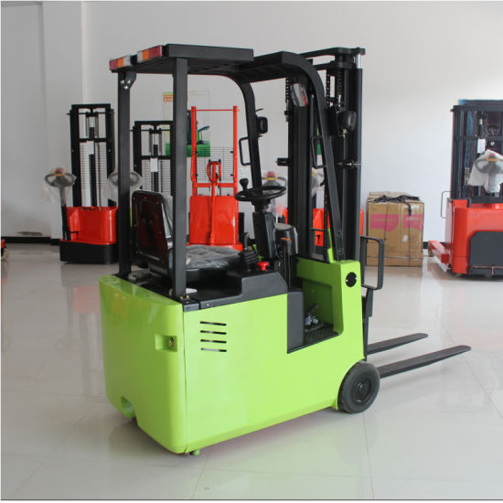 Warehouse Material Handling 1.5ton-3ton Electric Forklift Truck with Ce Certificate