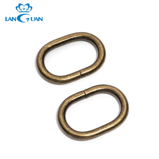 Hot Selling Fashionable Metal Oval Ring Belt Buckle pictures & photos